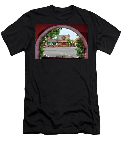 Downtown Solvang Men's T-Shirt (Athletic Fit)