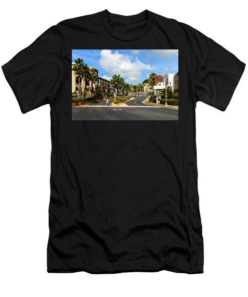 Downtown Tamuning Guam Men's T-Shirt (Athletic Fit)