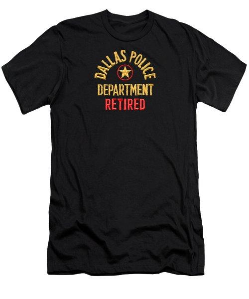 Dpd Shoulder Patch - Retired T-shirt Men's T-Shirt (Slim Fit) by Robert J Sadler