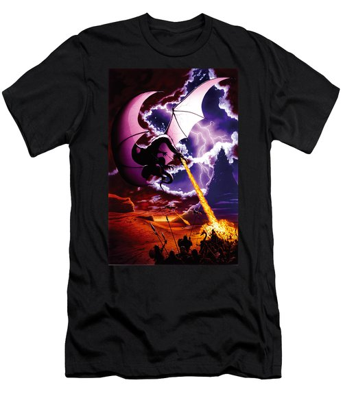 Dragon Attack Men's T-Shirt (Athletic Fit)