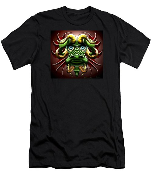 Dragon Cow Men's T-Shirt (Athletic Fit)