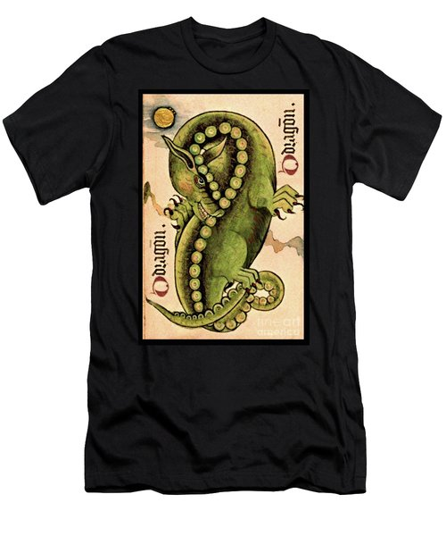Dragon Dragon Men's T-Shirt (Athletic Fit)