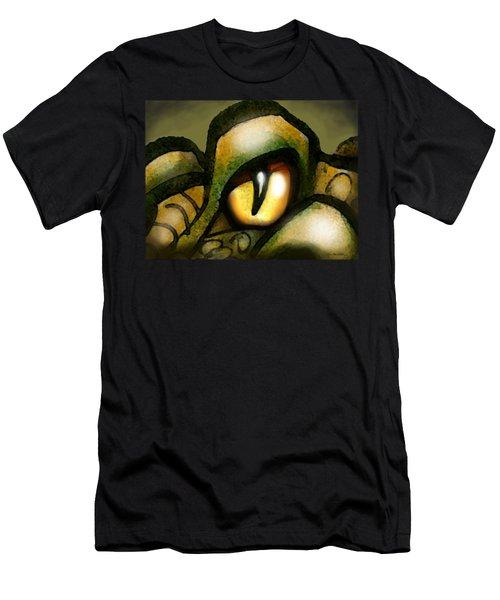 Dragon Eye Men's T-Shirt (Athletic Fit)