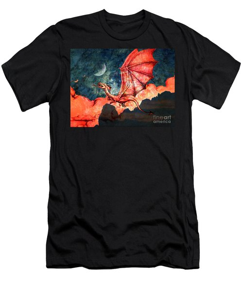 Dragon Flight Men's T-Shirt (Athletic Fit)