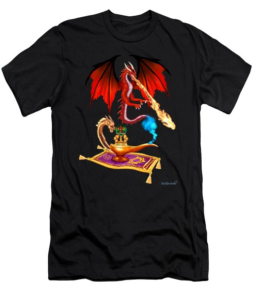 Dragon Genie Men's T-Shirt (Athletic Fit)
