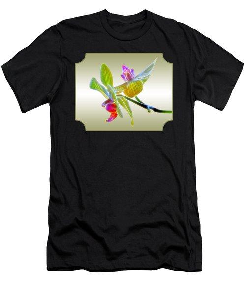 Dragon Glow Orchid Men's T-Shirt (Athletic Fit)