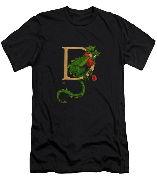 Dragon Letter D 2016 Men's T-Shirt (Athletic Fit)