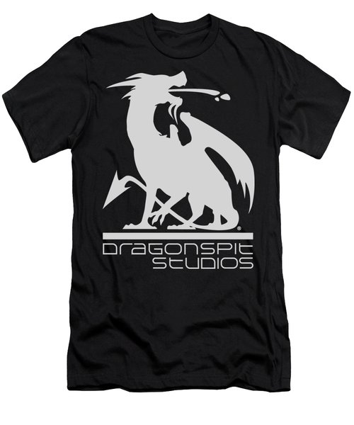 Dragon Spit Studios Logo Men's T-Shirt (Athletic Fit)