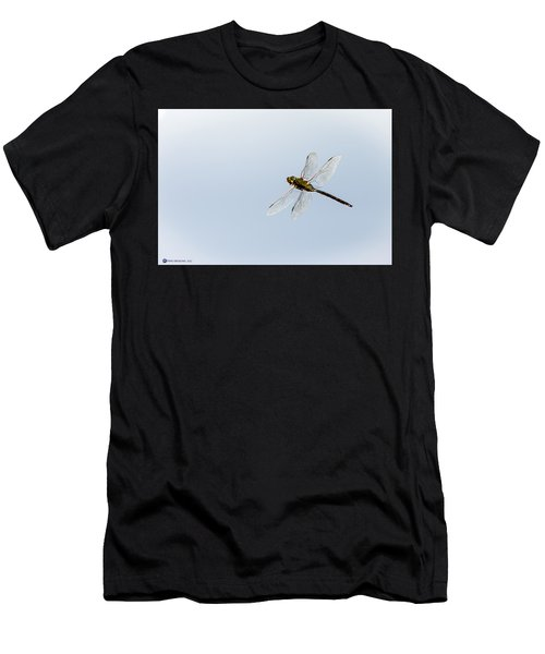 Dragonfly In Flight Men's T-Shirt (Athletic Fit)