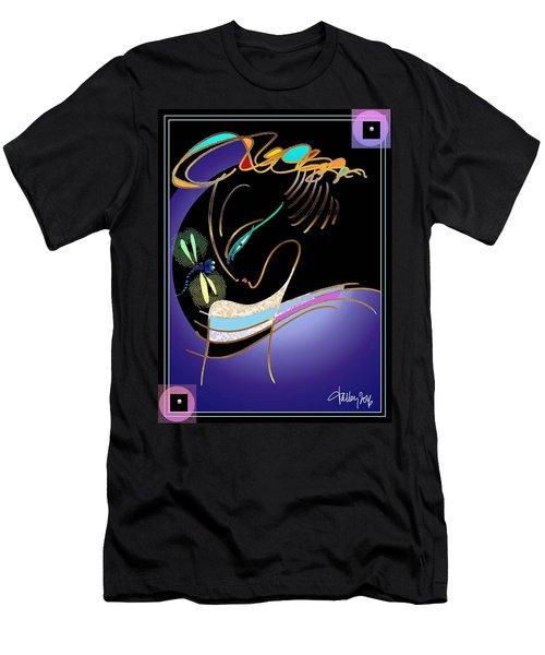 Dragonfly Messenger Men's T-Shirt (Athletic Fit)