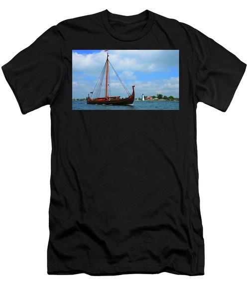 The Draken Passing Rock Island Men's T-Shirt (Athletic Fit)