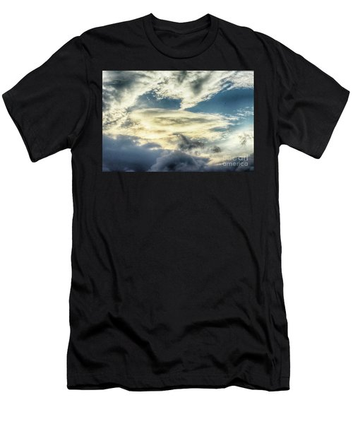 Drama Clouds Men's T-Shirt (Athletic Fit)