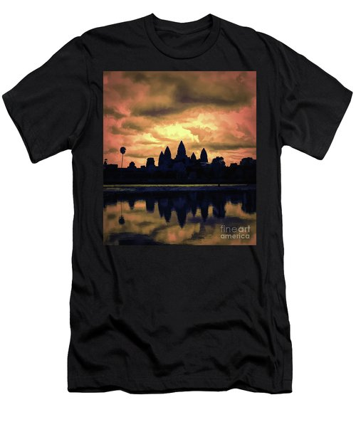 Dramatic Angkor Wat  Men's T-Shirt (Athletic Fit)