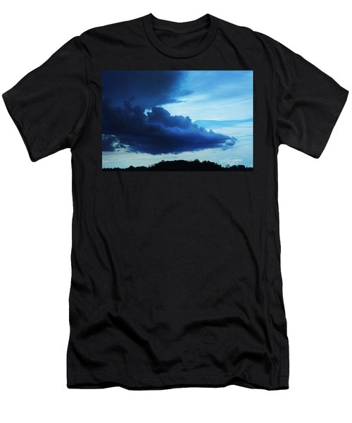 Dramatic Clouds Men's T-Shirt (Athletic Fit)
