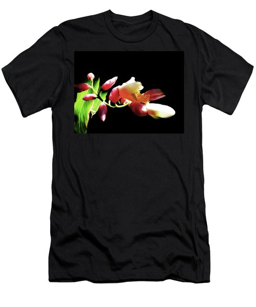 Dramatic Oriental Orchid Men's T-Shirt (Athletic Fit)