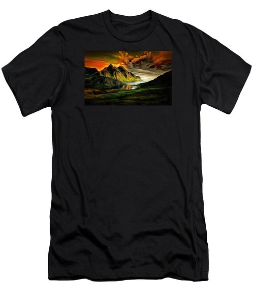 Dramatic Skies Men's T-Shirt (Athletic Fit)