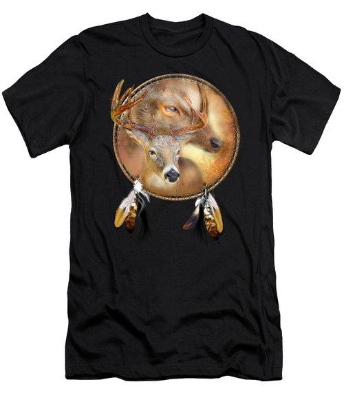 Dream Catcher - Autumn Deer Men's T-Shirt (Athletic Fit)