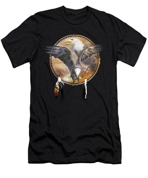Dream Catcher - Spirit Eagle 3 Men's T-Shirt (Athletic Fit)