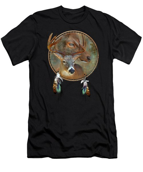 Dream Catcher - Spirit Of The Deer Men's T-Shirt (Athletic Fit)