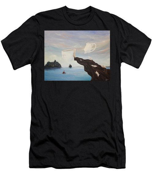 Dream Commute Men's T-Shirt (Athletic Fit)