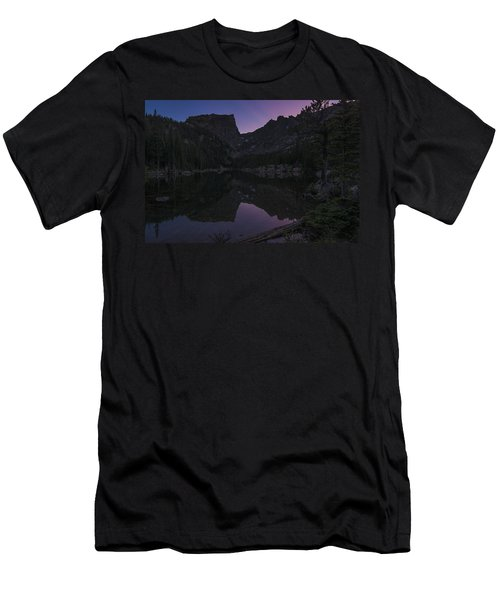 Dream Lake Reflections Men's T-Shirt (Athletic Fit)