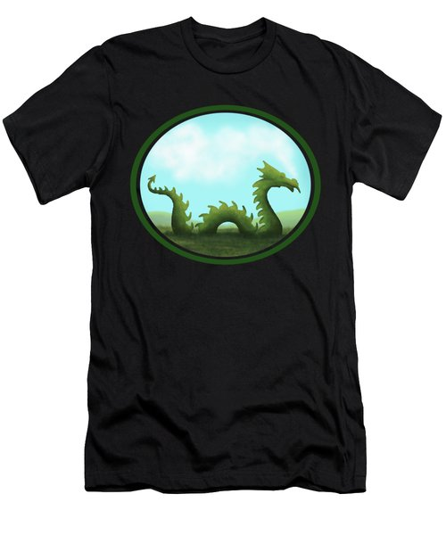 Dream Of A Dragon Men's T-Shirt (Athletic Fit)
