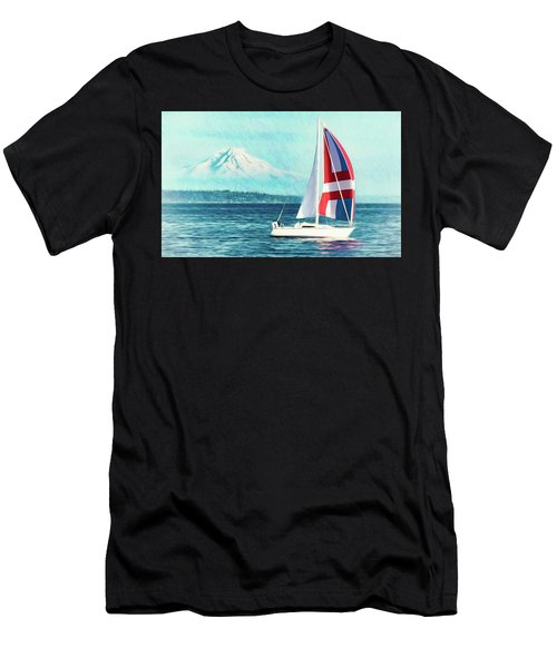 Dream Of Sailing Men's T-Shirt (Athletic Fit)