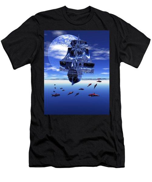 Dream Sea Voyager Men's T-Shirt (Athletic Fit)