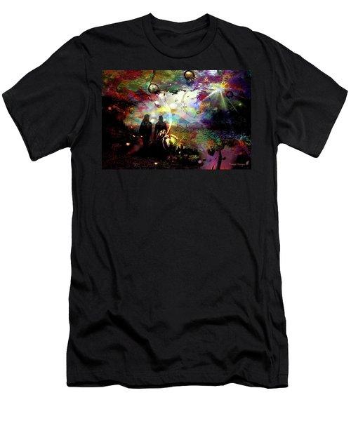 Dream Walking Men's T-Shirt (Athletic Fit)