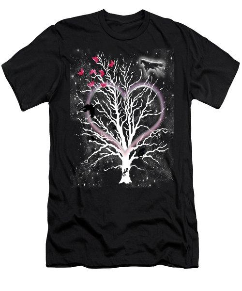 Dreamcatcher Tree Men's T-Shirt (Athletic Fit)