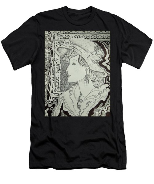 Dreaming Of Another Time Men's T-Shirt (Slim Fit) by Tamyra Crossley