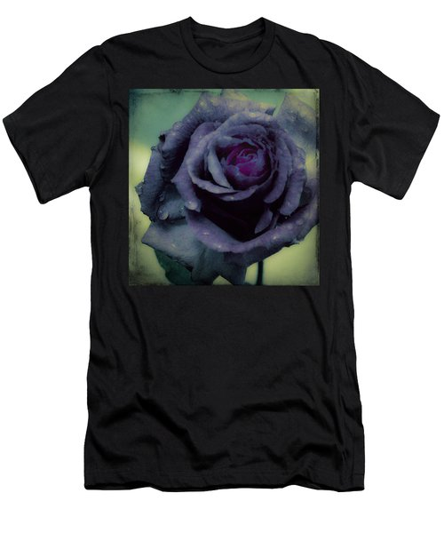 Men's T-Shirt (Slim Fit) featuring the photograph Dreaming Of Roses by Cathy Donohoue