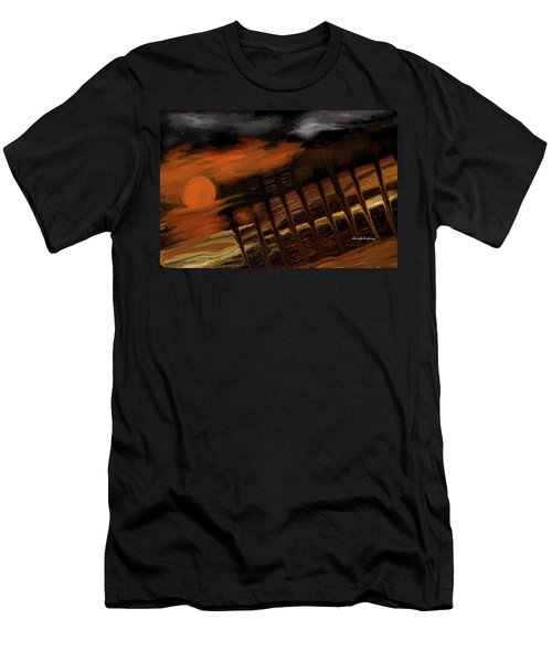 Dreaming Of The Beach Men's T-Shirt (Athletic Fit)