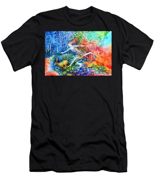 Dreaming With Hares Men's T-Shirt (Athletic Fit)