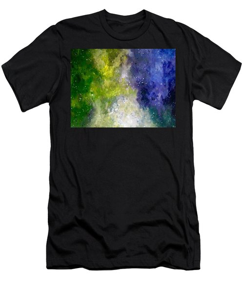 Men's T-Shirt (Athletic Fit) featuring the painting Dreams by Joel Tesch