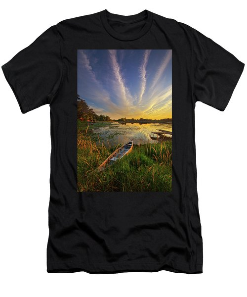 Dreams Of Dusk Men's T-Shirt (Athletic Fit)