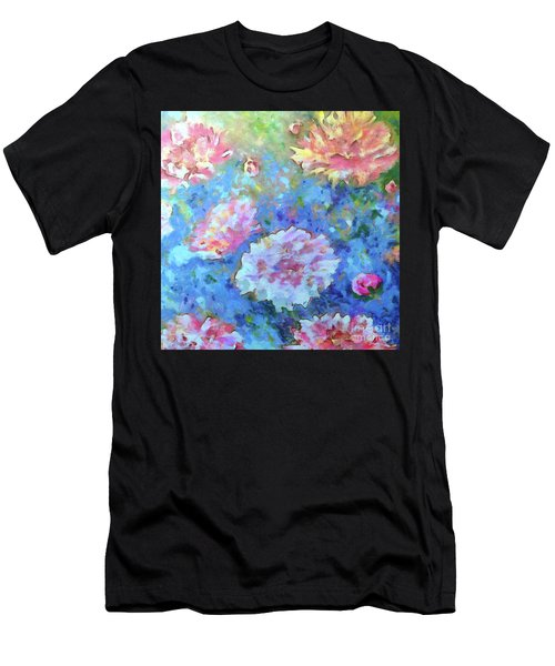 Men's T-Shirt (Athletic Fit) featuring the painting Dreams Of Love by Claire Bull