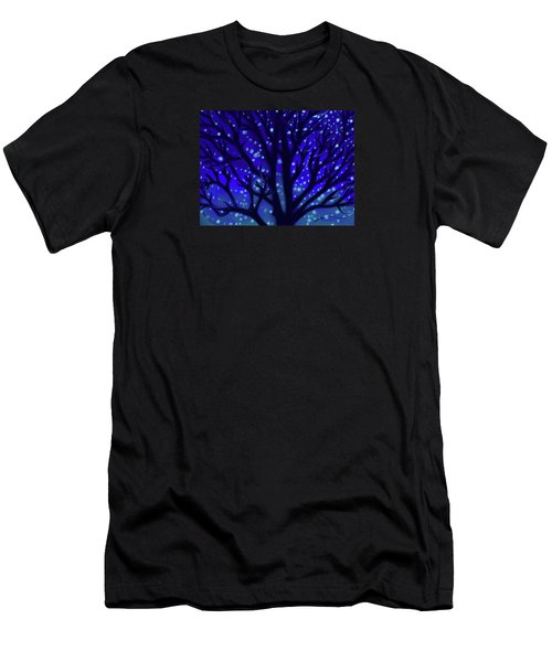 Men's T-Shirt (Slim Fit) featuring the painting Dreams Of Needham by Jean Pacheco Ravinski