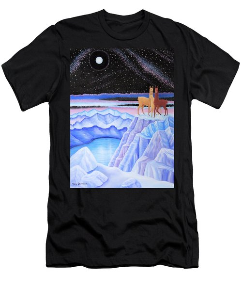 Dreamscape Men's T-Shirt (Slim Fit) by Tracy Dennison