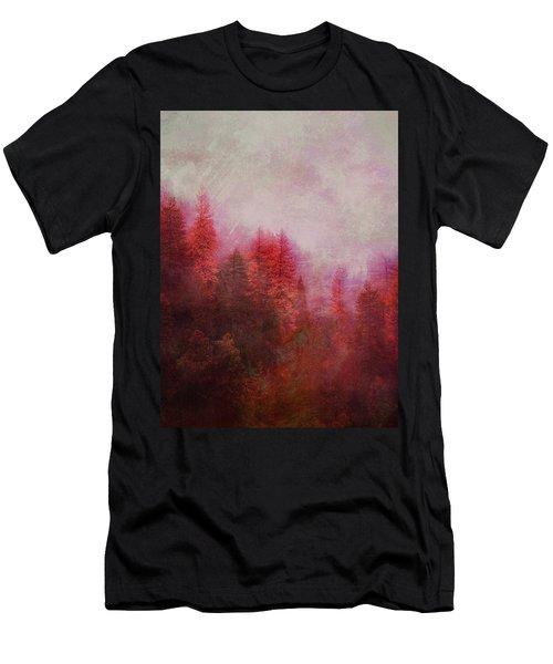 Dreamy Autumn Forest Men's T-Shirt (Athletic Fit)