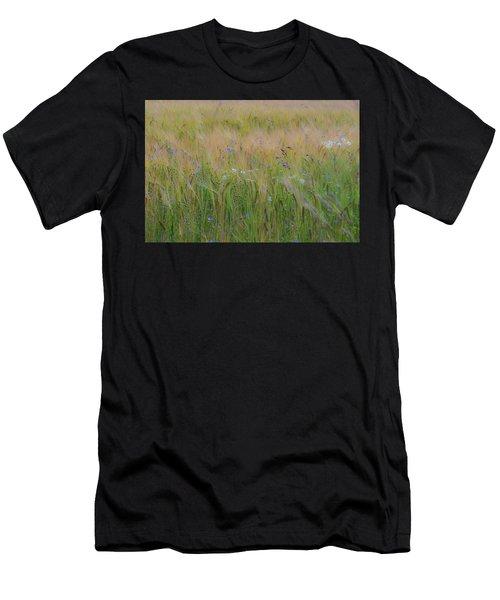 Dreamy Meadow Men's T-Shirt (Athletic Fit)