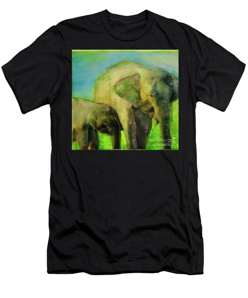 Dreaming Of Elephants Men's T-Shirt (Athletic Fit)