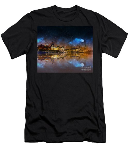 Dresden At Night Men's T-Shirt (Athletic Fit)