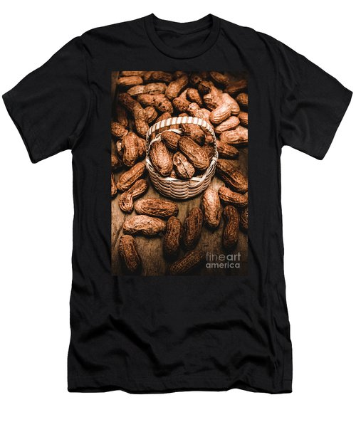 Dried Whole Peanuts In Their Seedpods Men's T-Shirt (Athletic Fit)