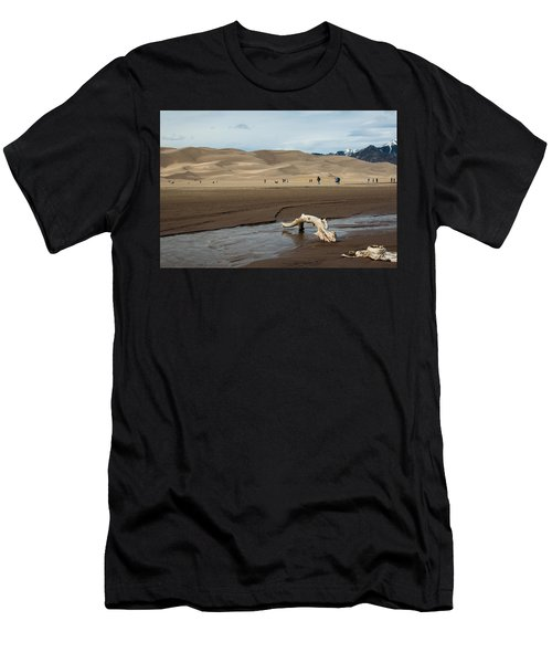 Drift Wood And Dunes Men's T-Shirt (Athletic Fit)