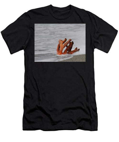 Drifting Coral Men's T-Shirt (Athletic Fit)