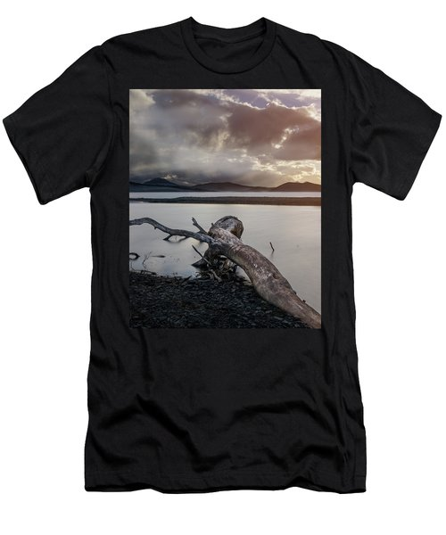 Driftwood At The End Of The World Men's T-Shirt (Athletic Fit)