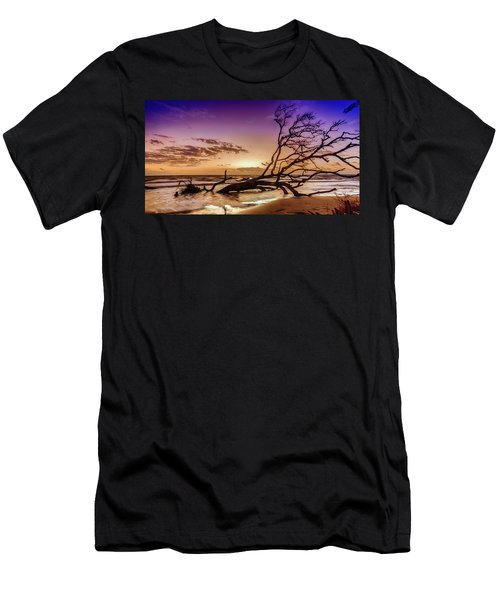Driftwood Beach 2 Men's T-Shirt (Athletic Fit)