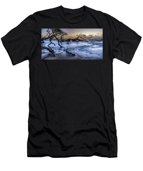 Driftwood Beach 3 Men's T-Shirt (Athletic Fit)