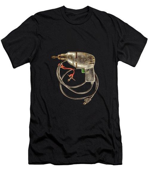 Drill Motor, Green Trigger Men's T-Shirt (Athletic Fit)